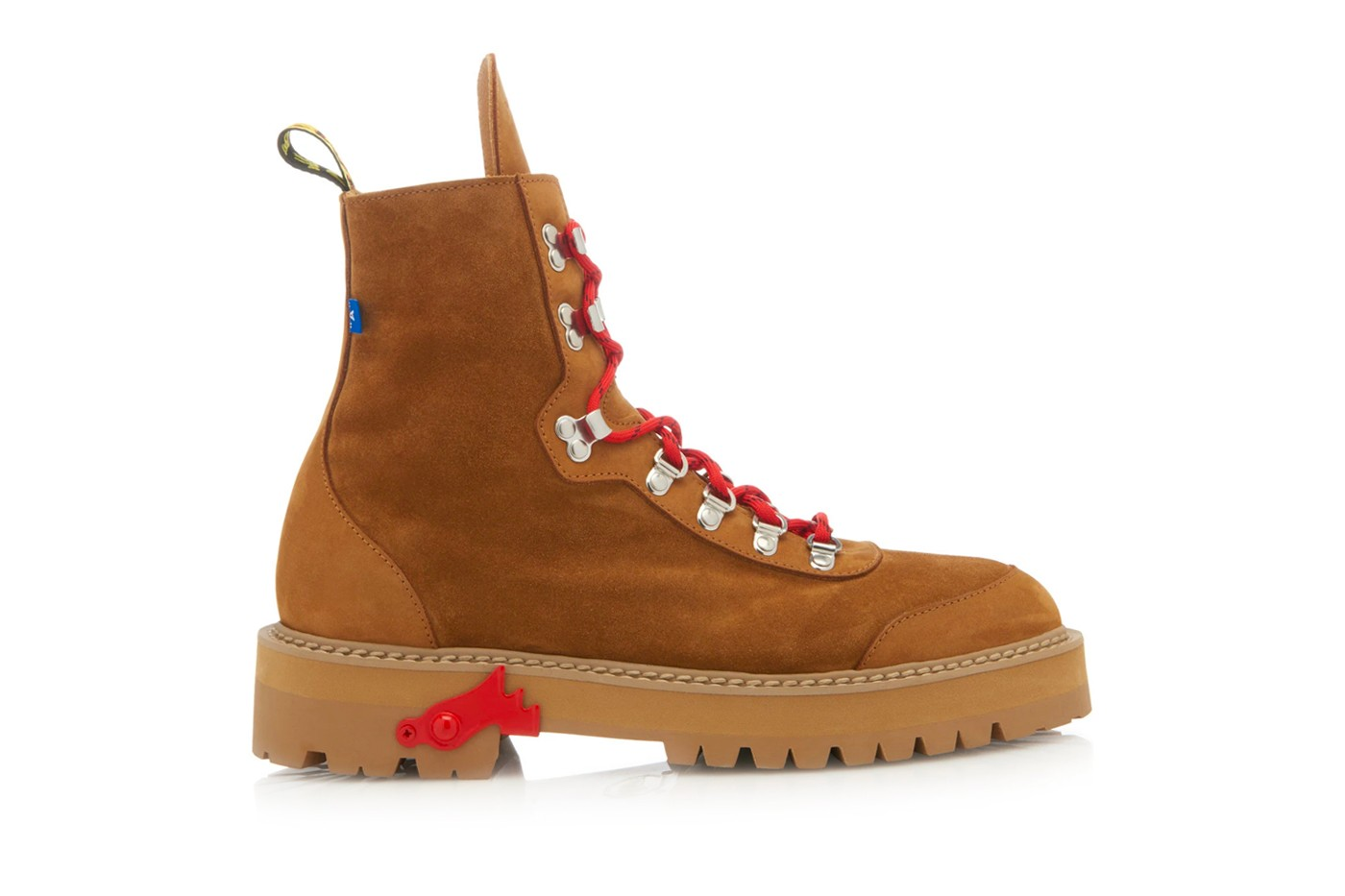 off white virgil abloh suede hiking boots