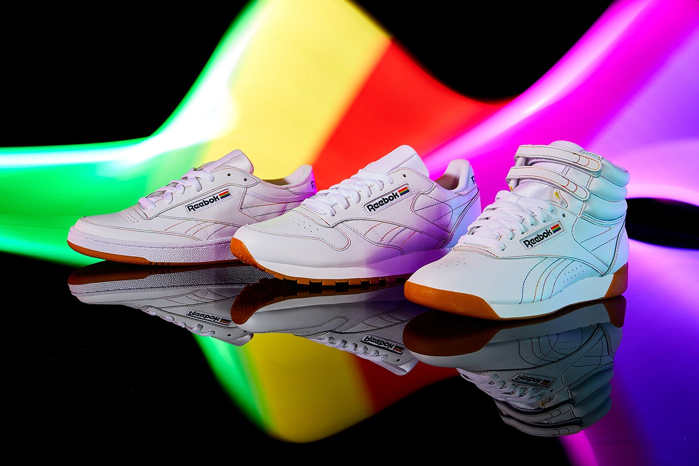 954a46fdc Reebok Gets an Early Start on Pride Month With a Footwear Collection  Dedicated to LGBT Health and Wellness