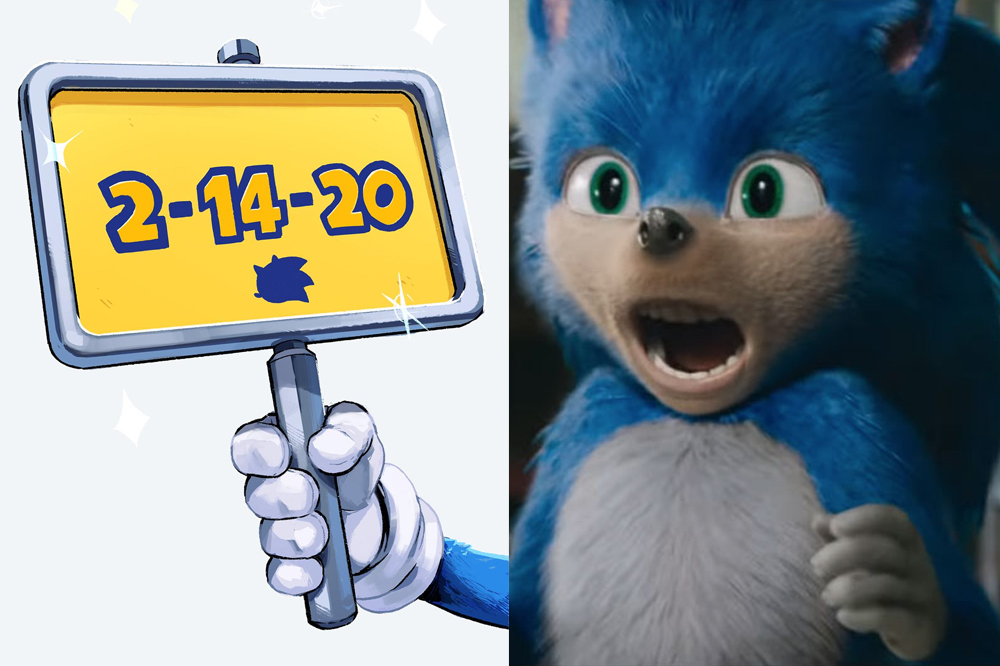 sonic the hedgehog film pushed back to