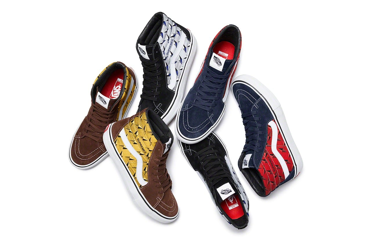 supreme vans spring summer  collection