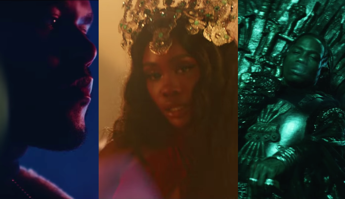 sza the weeknd travis scott power is power music video game of thrones