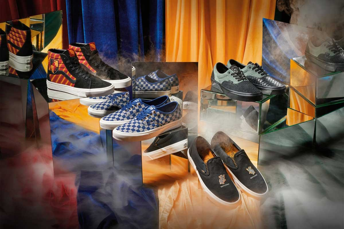vans harry potter footwear collection
