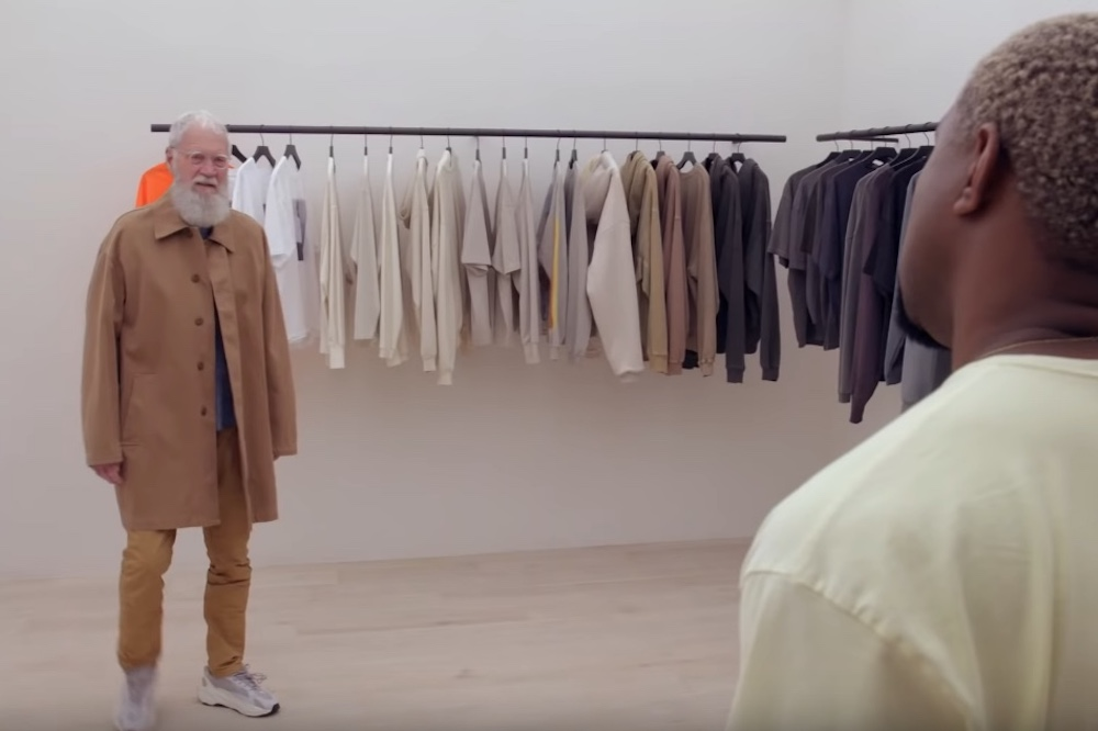 watch kanye west style david letterman my next guest needs no introduction