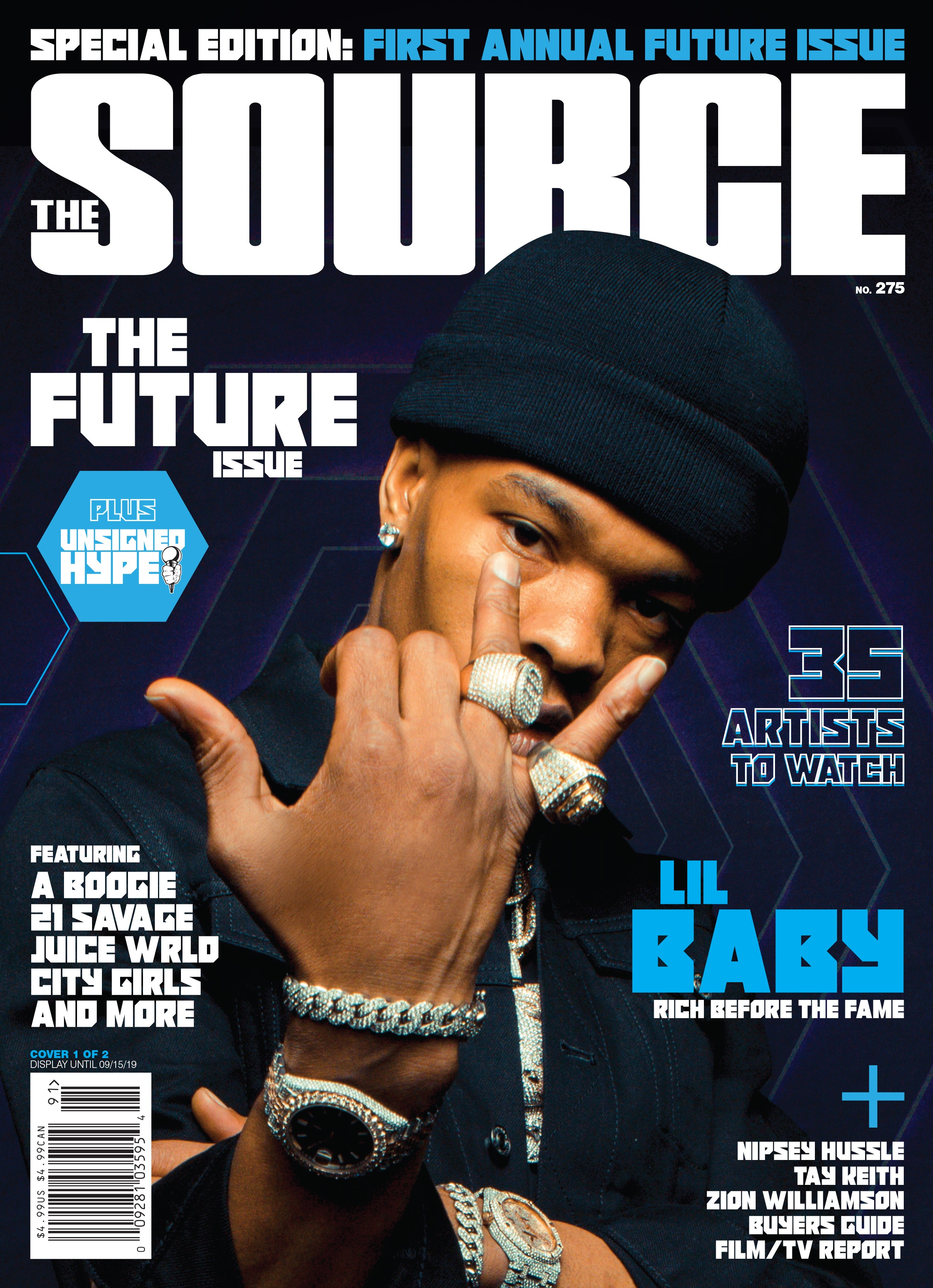 Exclusive: Lil Baby Represents Atlanta on the Cover of The Source's Inaugural 'The Future' Issue