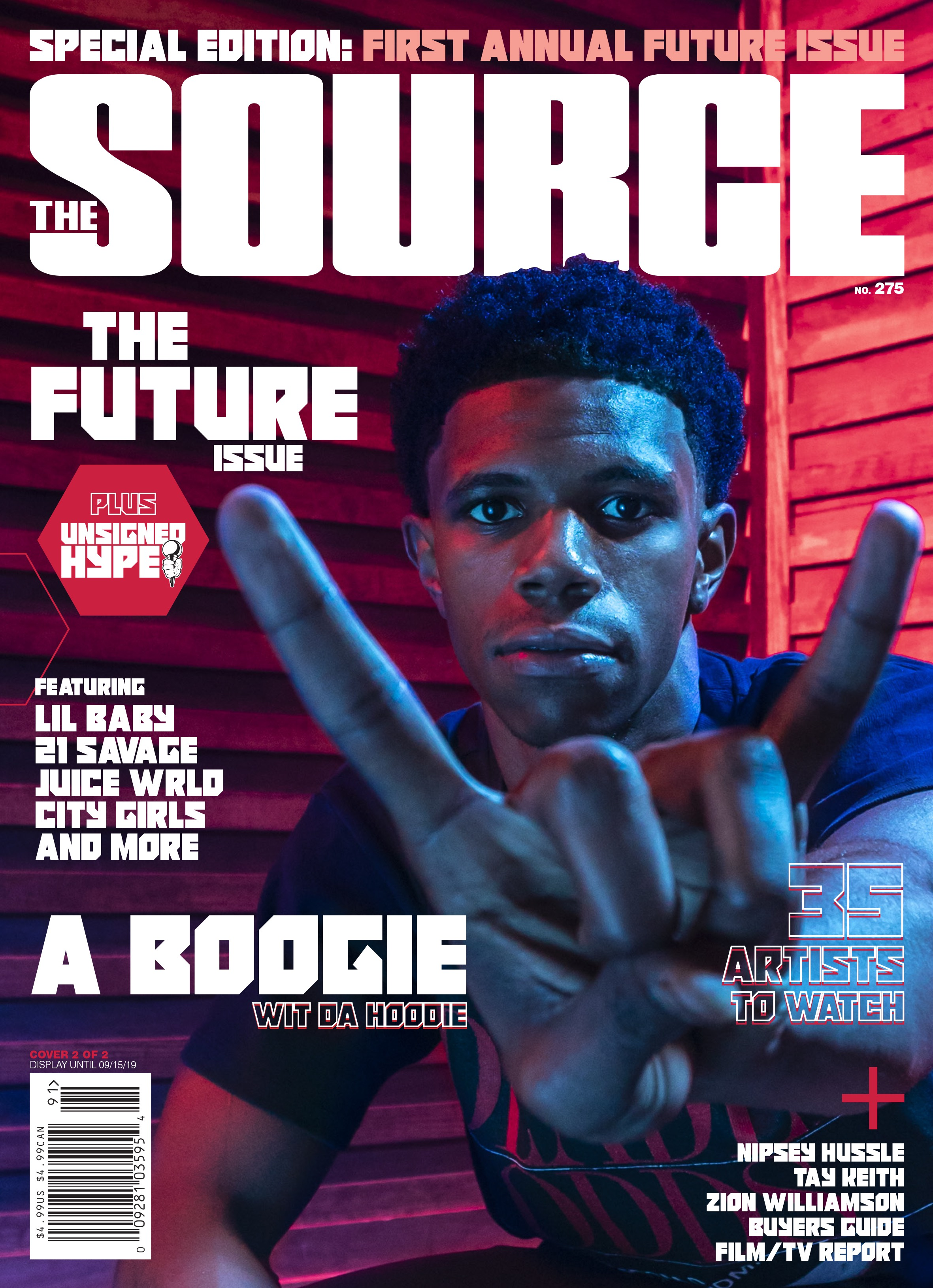 Exclusive: A Boogie wit da Hoodie Represents New York City on the Cover of The Source's Inaugural 'The Future' Issue