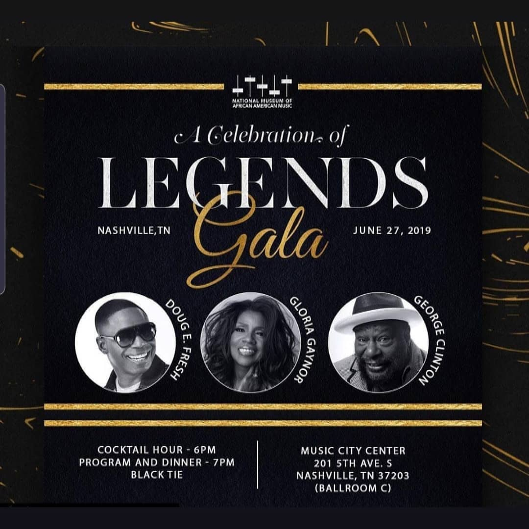 0366ce850bb0 George Clinton, Doug E. Fresh and Gloria Gaynor to be Honored by the  National Museum of African American Music