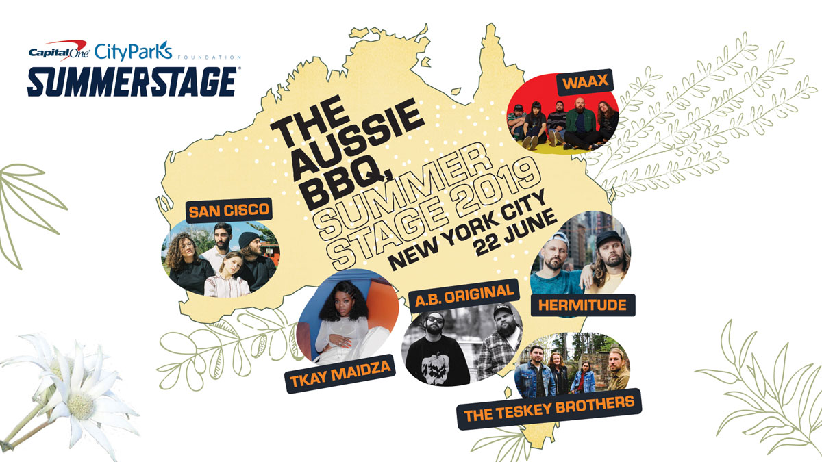8283d02e4cb7 'THE AUSSIE BBQ' Set to Hit NYC Saturday with Tkay Maidza, A. B. Original  and More