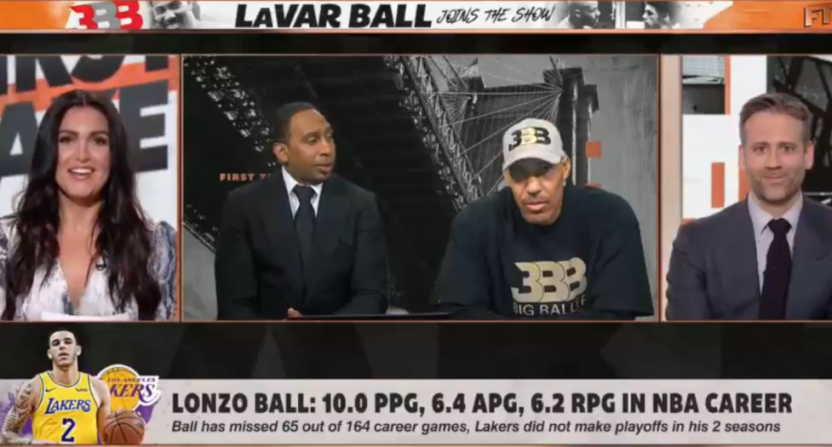 LaVar Ball First Take June