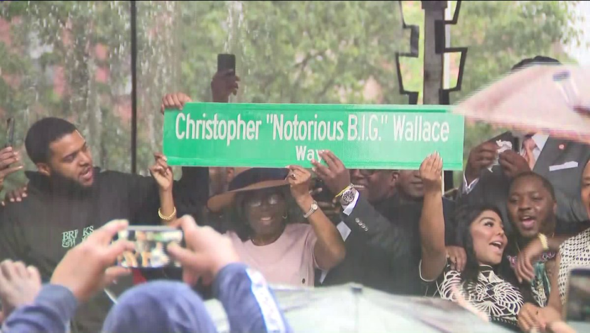 Lil Kim, Lil Cease Joins Biggie's Family in Renaming of his Childhood Block in his Honor