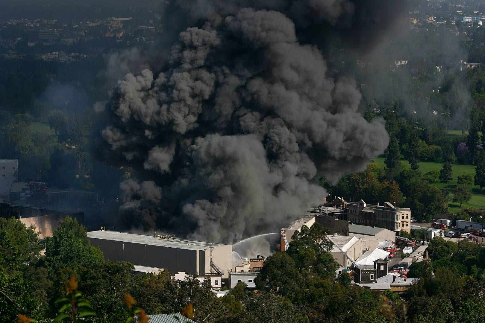 Massive 2008 Fire at Universal Studios Reportedly Damaged Master Recordings by Tupac, 50 Cent, Mary J. Blige and More