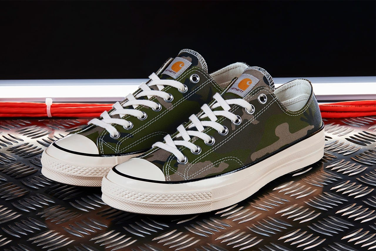 Carhartt WIP & Converse Work Up a Cool, Colorful Chuck