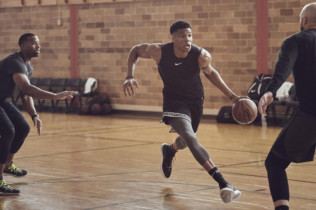 Giannis Antetokounmpo x Nike Zoom Freak 1 Signature Shoe