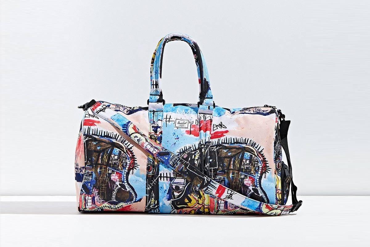 herschel supply basquiat bag collection