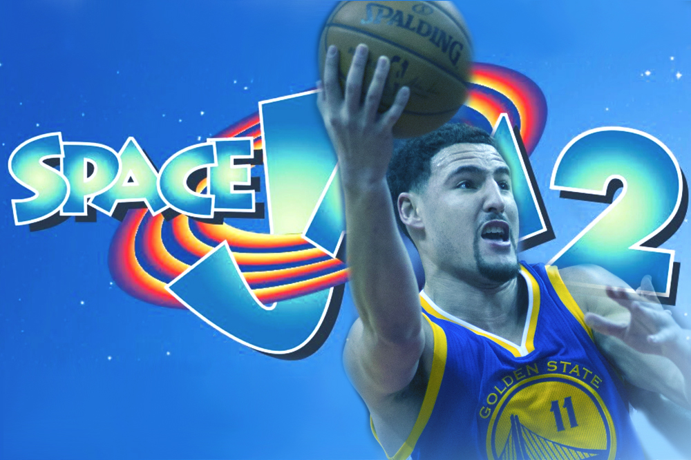 klay thompson may join space jam  cast