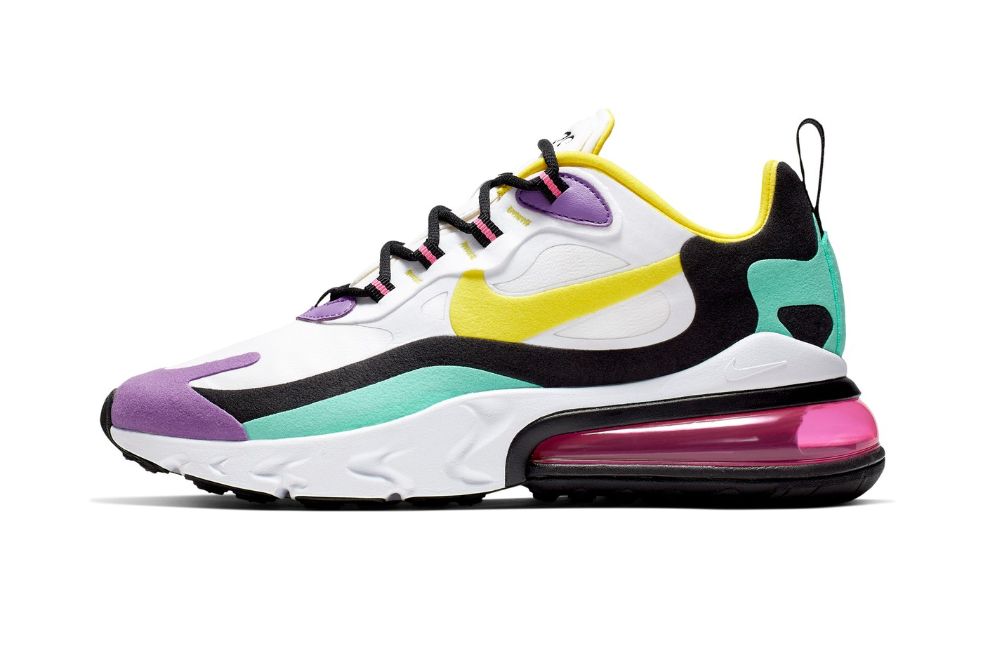 d91d6f62 The Air Max 270 React makes its debut at retailers globally and online  beginning July 3. See the initial colorways expected to launch throughout  Summer 2019 ...