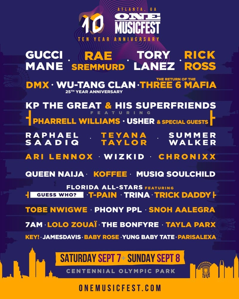 one-musicfest-2019 Meet ONE Music Fest's Founder J Carter!