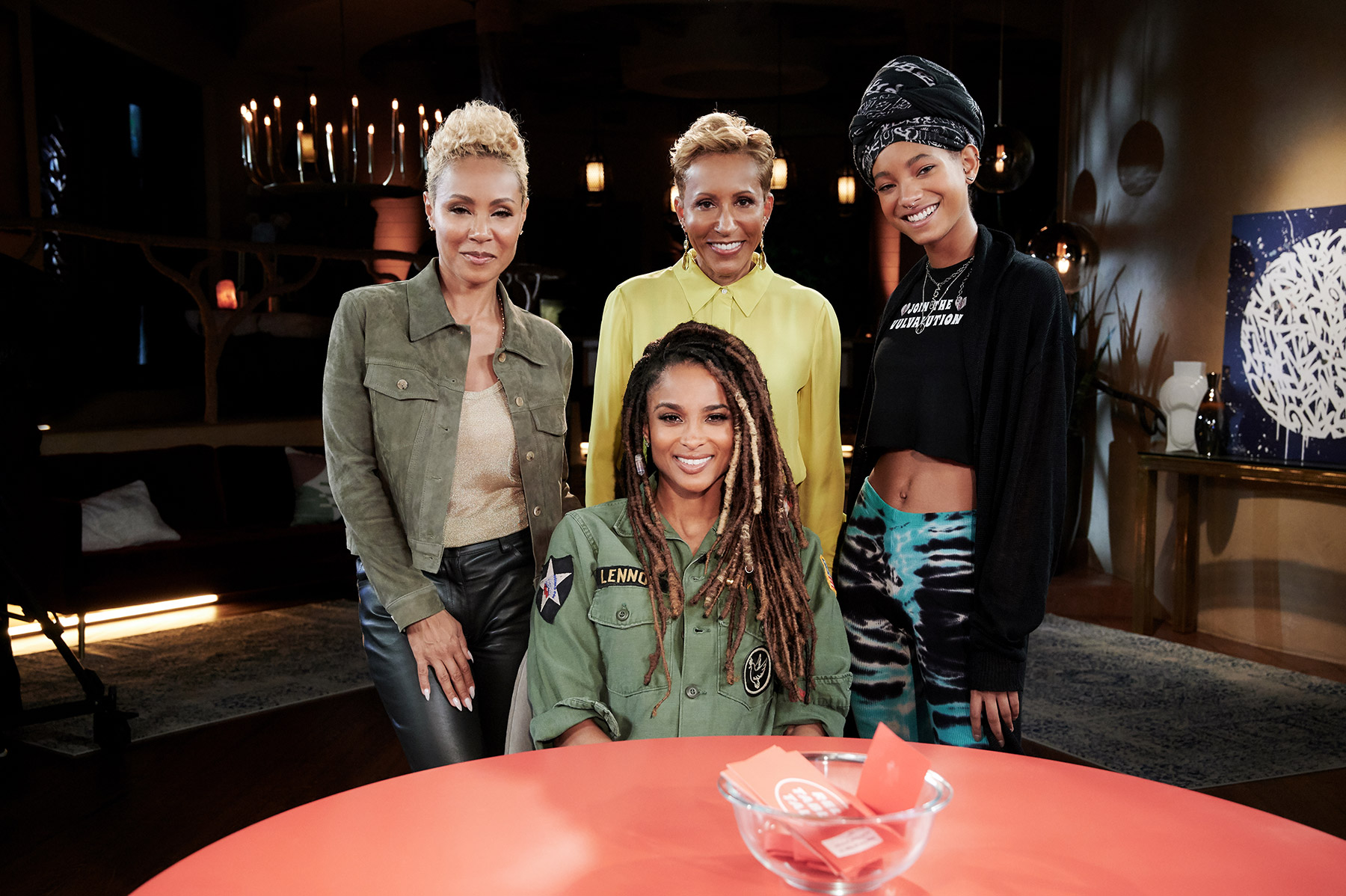 red table talk ciara
