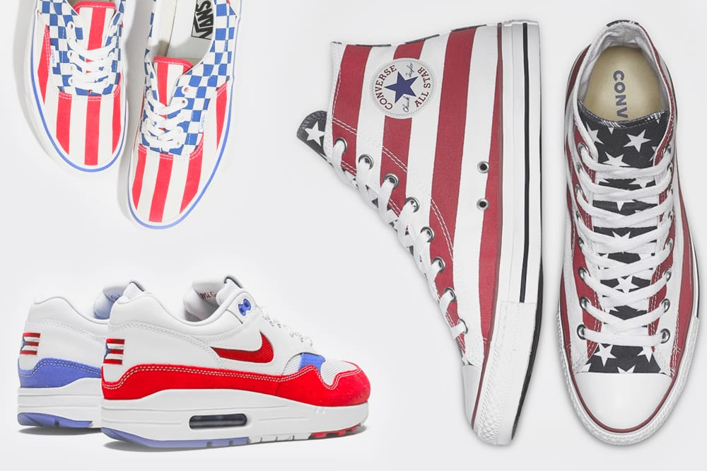 independence day sneakers for after july