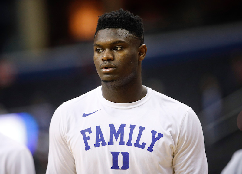 Zion Williamson Down to Two Puma and Nike On His Lucrative ...