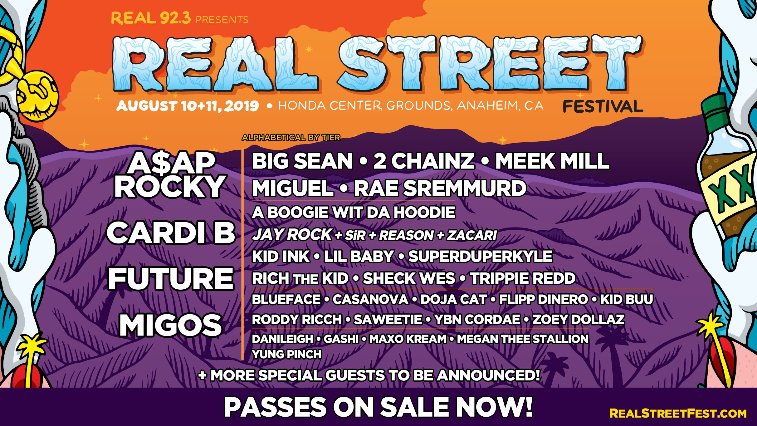A$AP Rocky, Cardi B, Future, Migos to Perform at Inaugural Real Street Festival