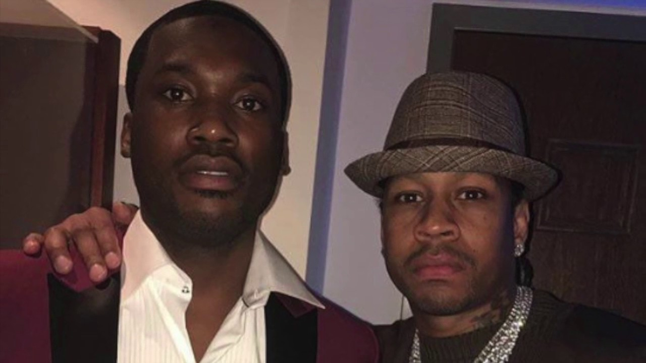 Allen Iverson Reportedly Helped With Meek Mill's Case