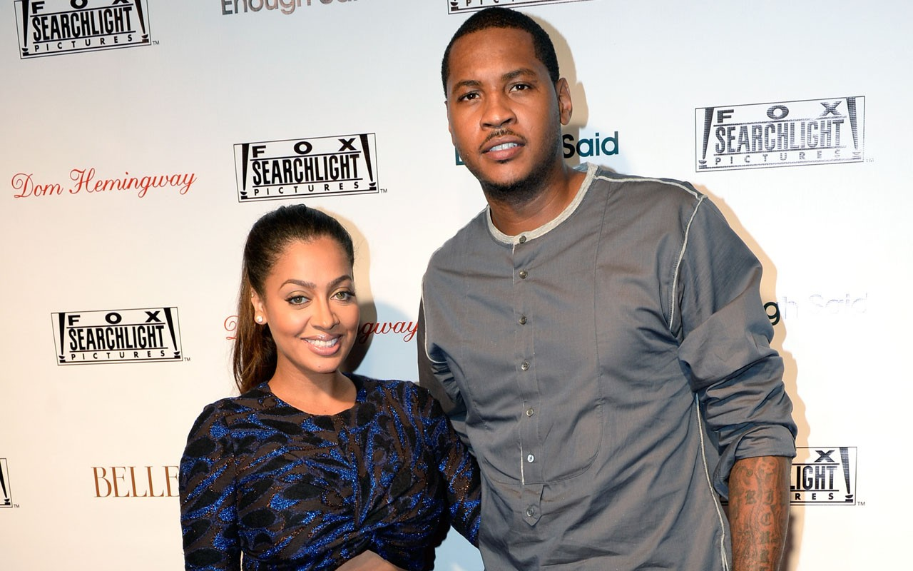 La La Anthony Praises Carmelo Anthony Despite Divorce Rumors