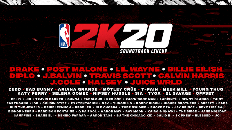 NBA K Soundtrack Announcement