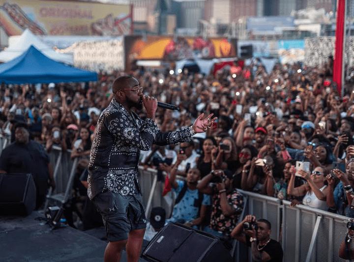 Davido, Hood Celebrityy, Bunji Garlin, Busy Signal Perform for Thousands at Big Bad BBQ in Brooklyn