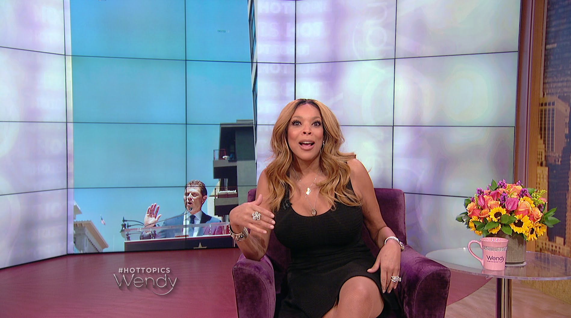 Wendy Williams Announces She's 'Crazy' About her New Doctor Bae
