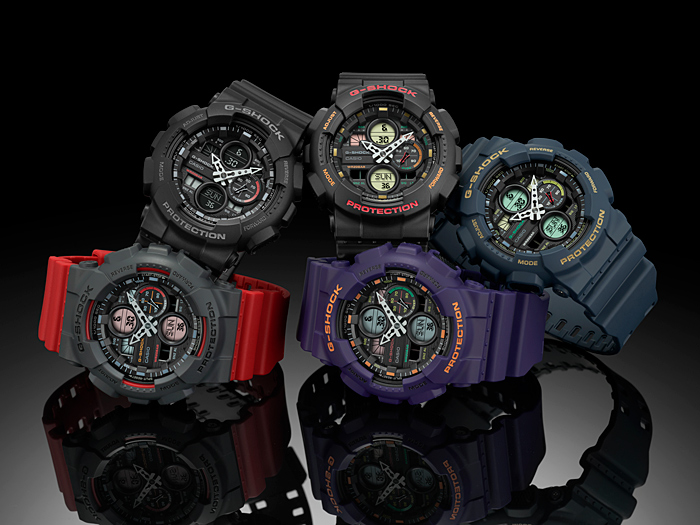 G-SHOCK Looks to the '90s Boombox Era For Its Latest GA-140