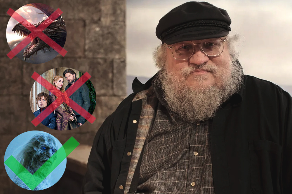 george r r martin game of thrones prequel updates