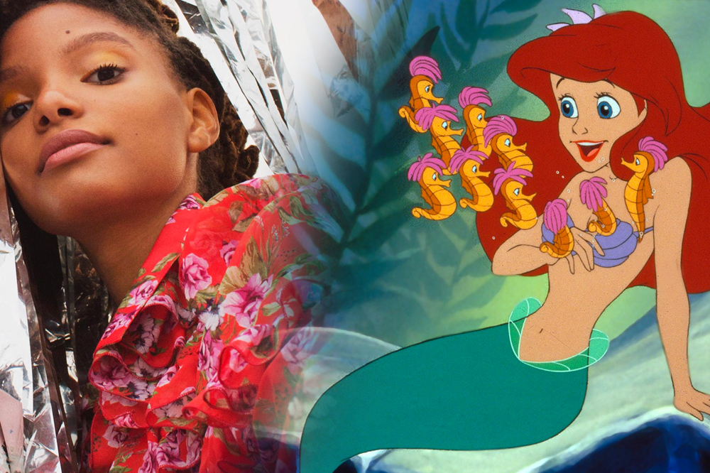 halle bailey as ariel disney the little mermaid live action remake