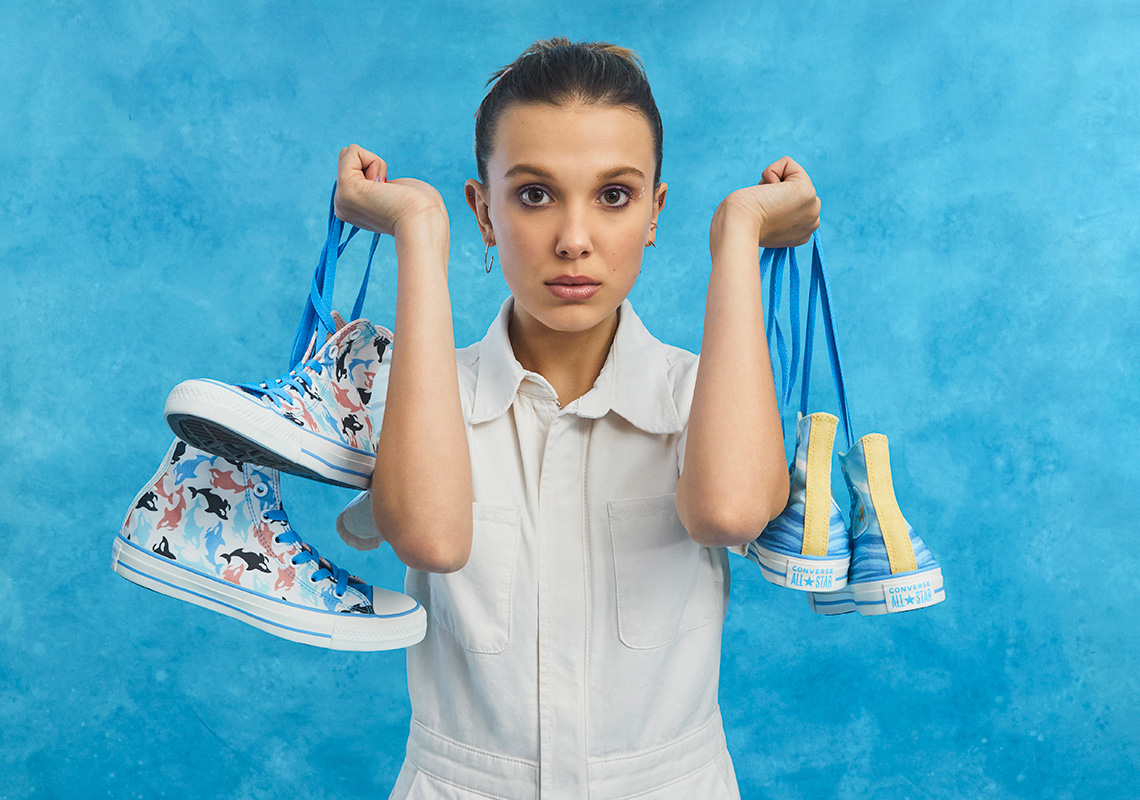 millie bobby brown converse millie by you collection