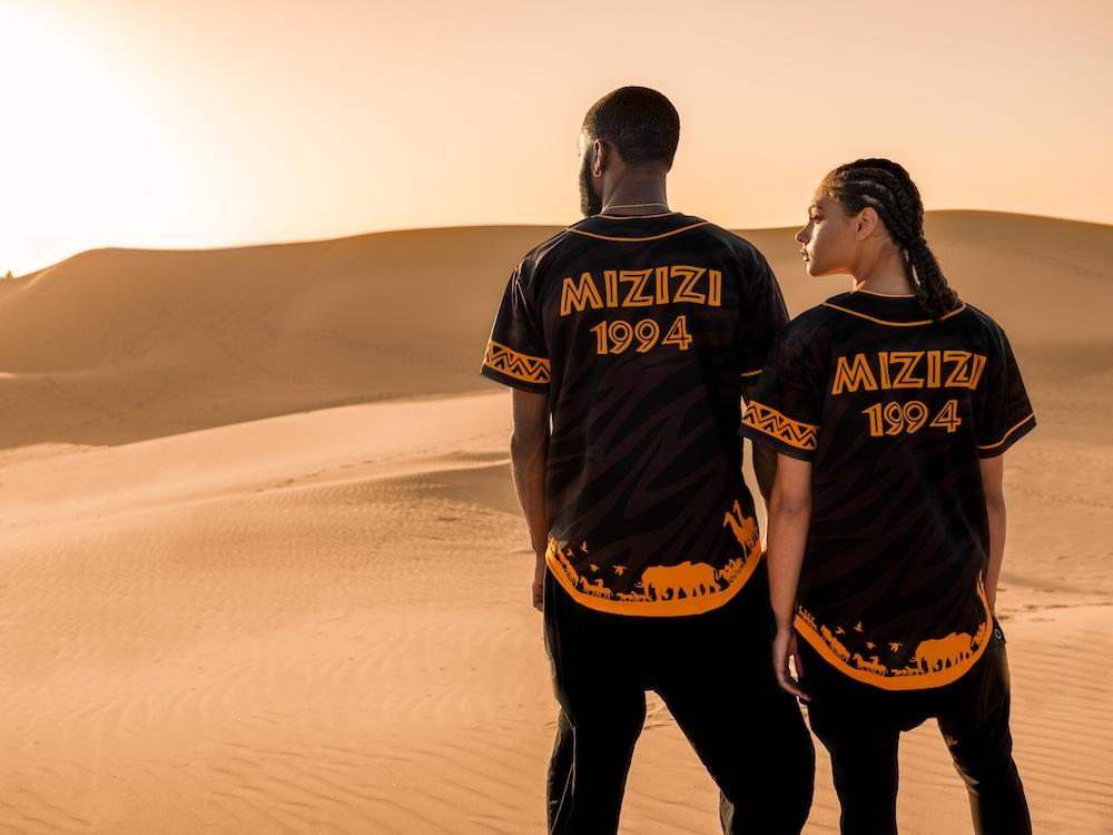 mizizi the lion king  capsule collection