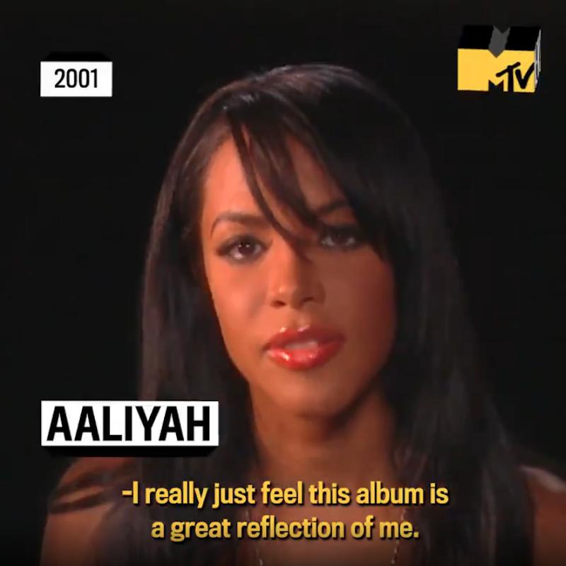 mtv diary rare clip aaliyah th anniversary final album