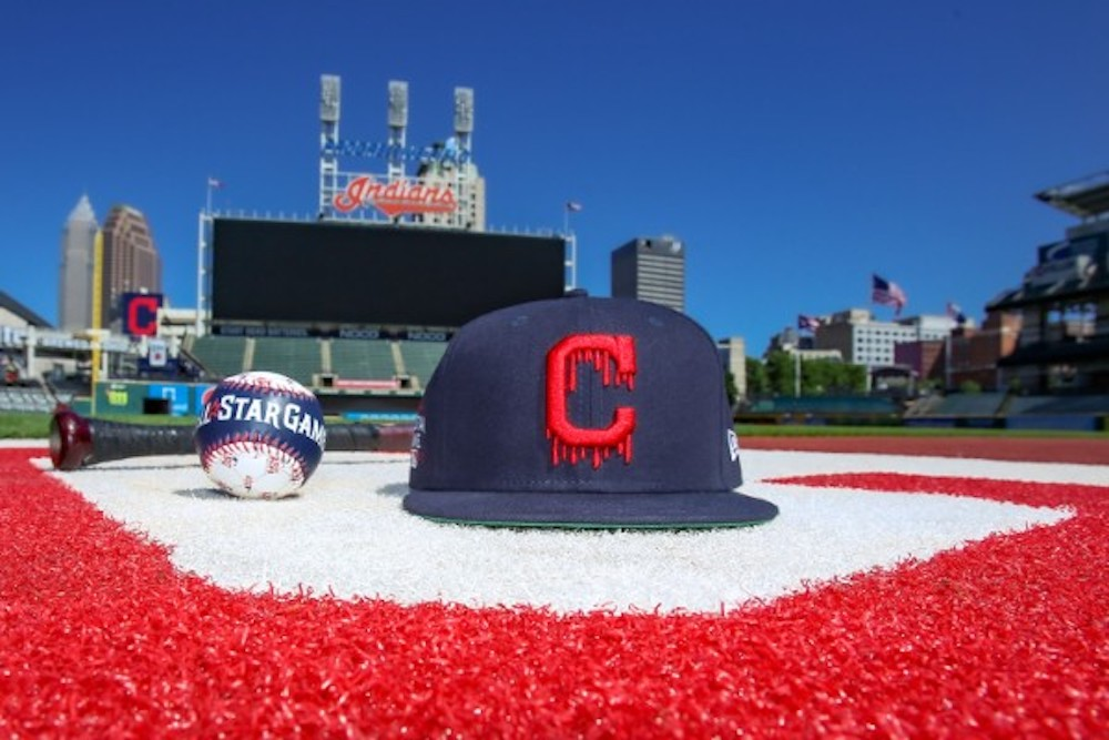 new era cap kid cudi cleveland indians all star fifty