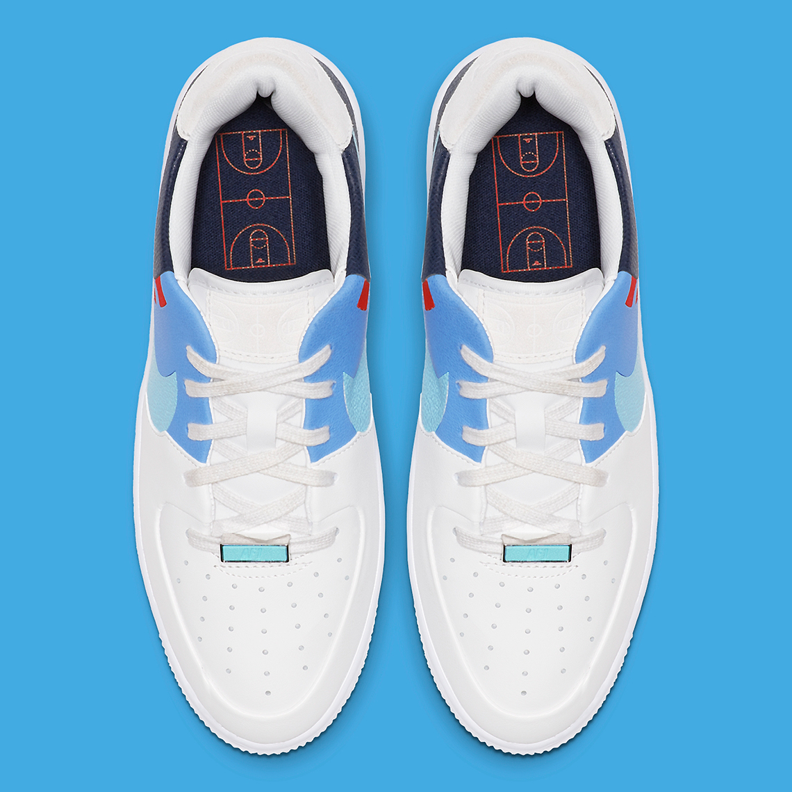 pas cher pour réduction 79856 763e1 Nike Takes It Back to the Court With This Air Force 1 Sage ...