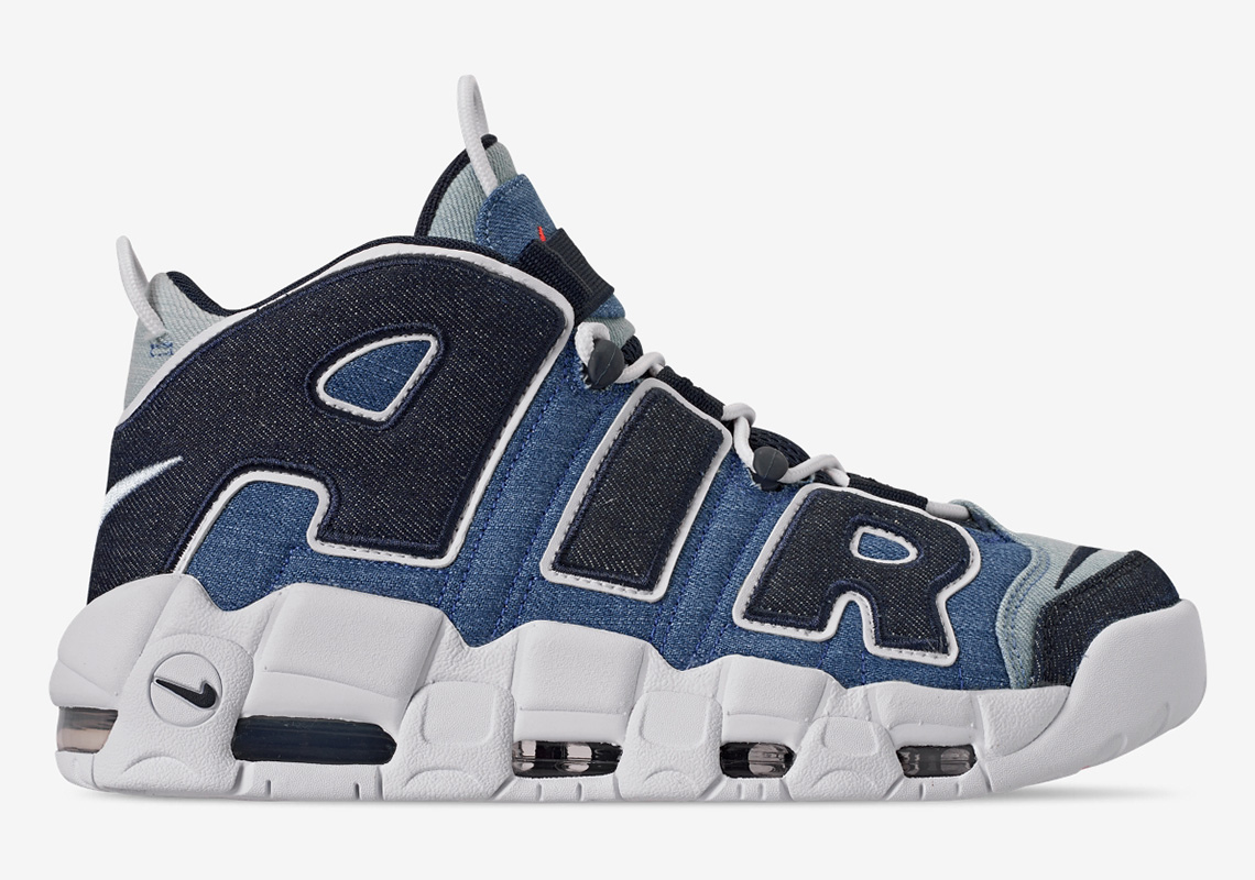 finest selection 1b406 83b13 Nike's Air More Uptempo 96 Gets Decked Out in Denim   The Source