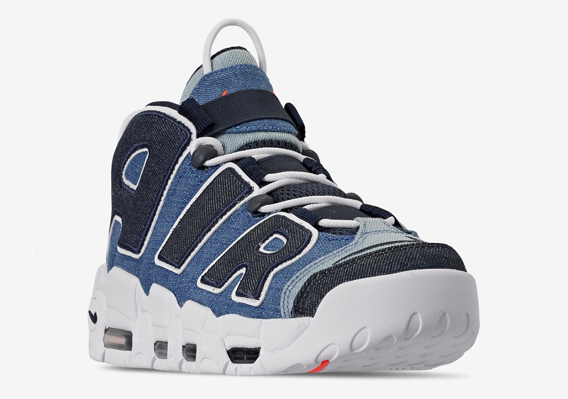meilleure sélection df651 8dffc Nike's Air More Uptempo 96 Gets Decked Out in Denim | The Source