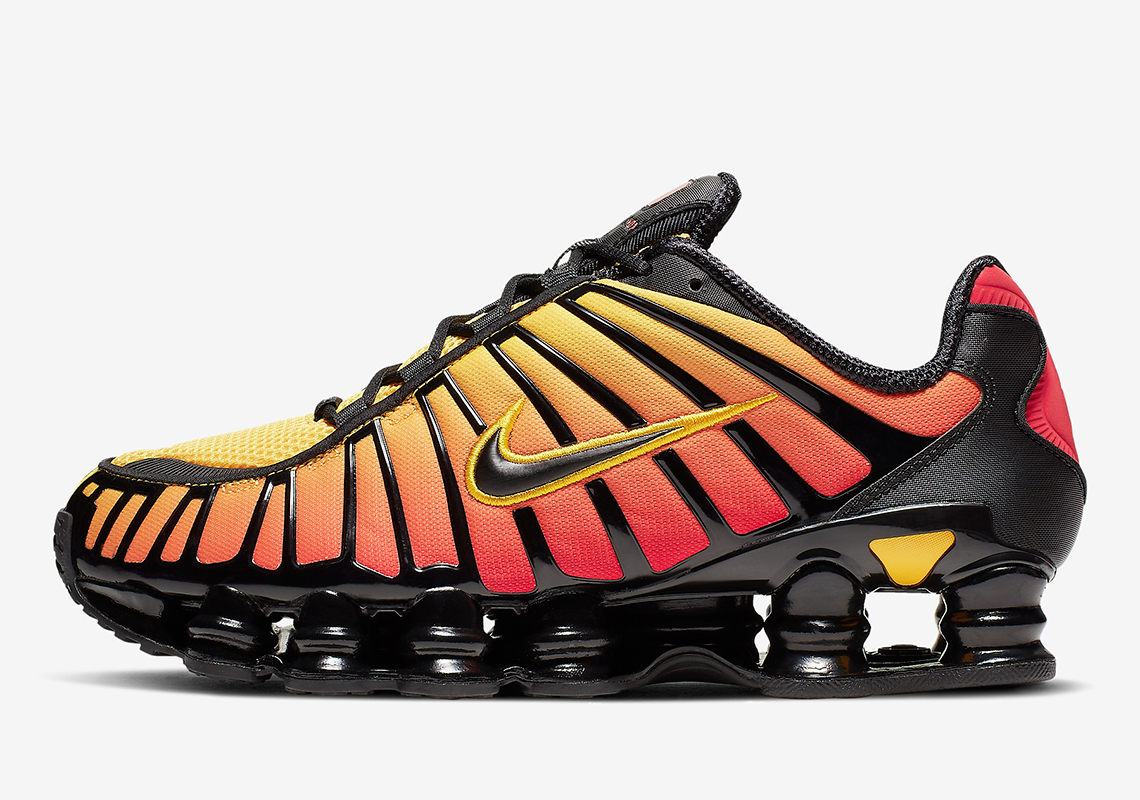 Nike's Classic Shox TL Sneaker Gets a Sunrise-Themed Update