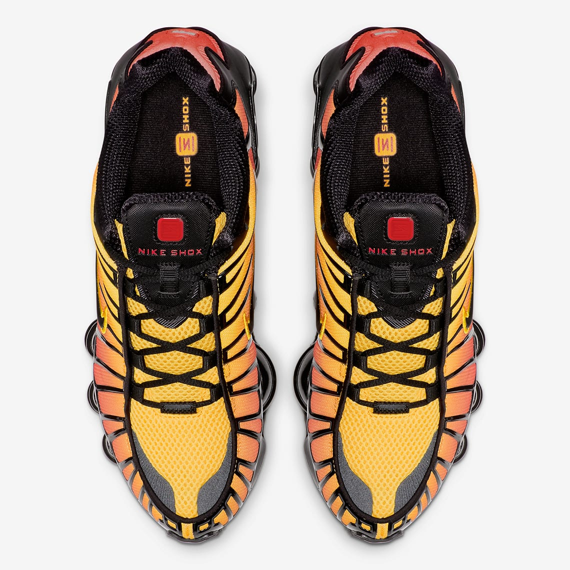 info for 09949 81b47 Nike's Classic Shox TL Sneaker Gets a Sunrise-Themed Update