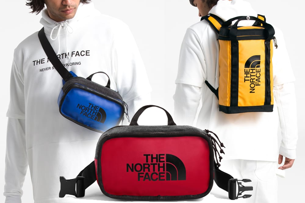 the north face explore pack collection