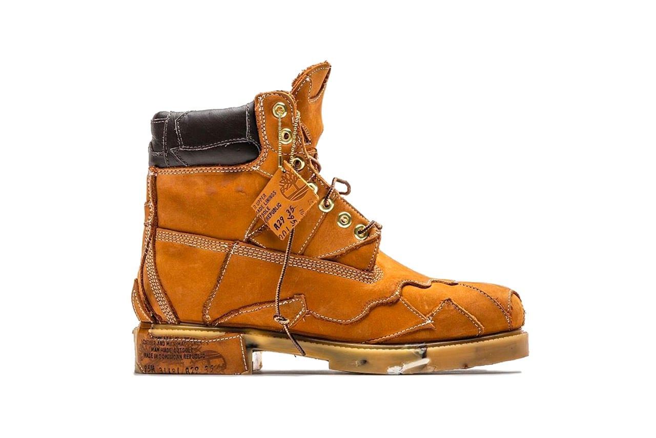 timberland construct  conceptkicks custom boots