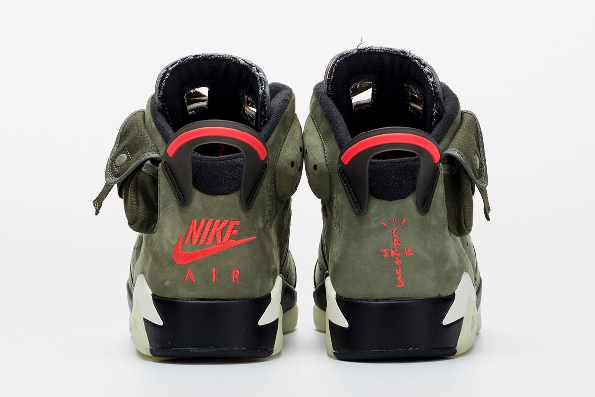 best sneakers 02180 54e5d Here's An Early Look at Travis Scott's Nike Air Jordan 6 ...