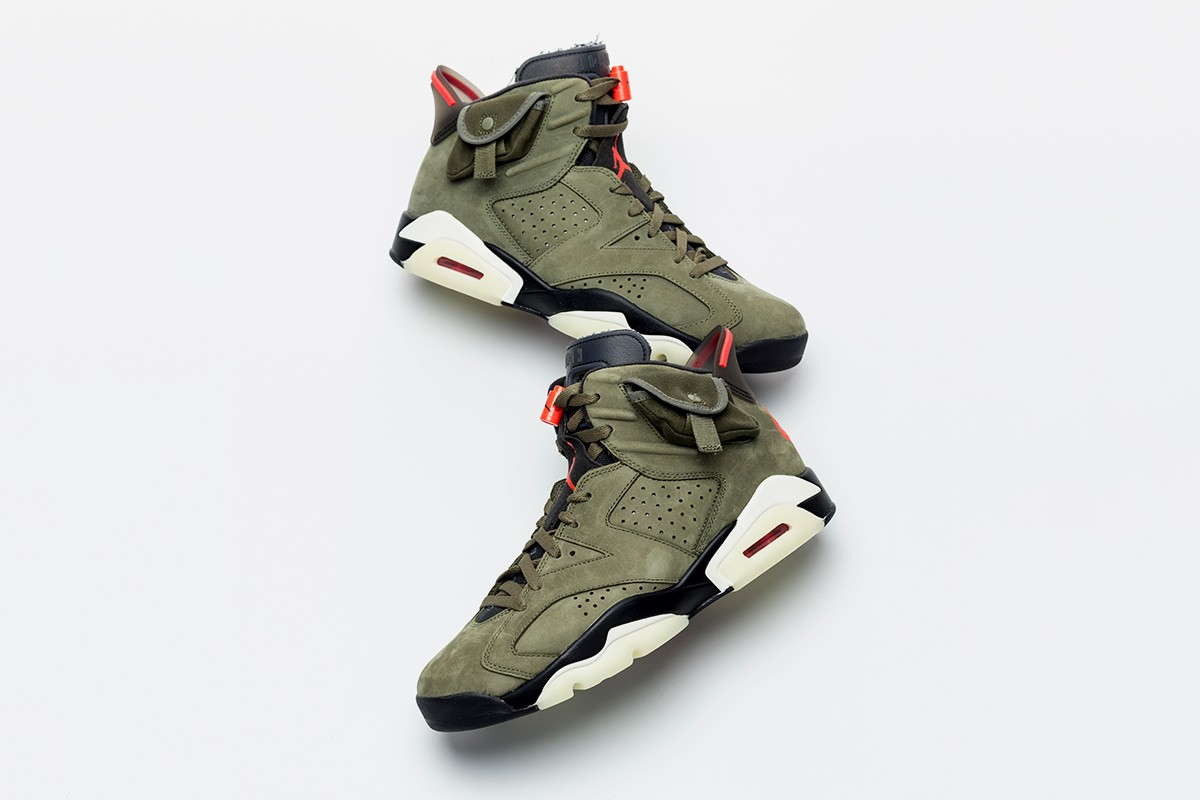 best sneakers 45c71 a8f97 Here's An Early Look at Travis Scott's Nike Air Jordan 6 ...