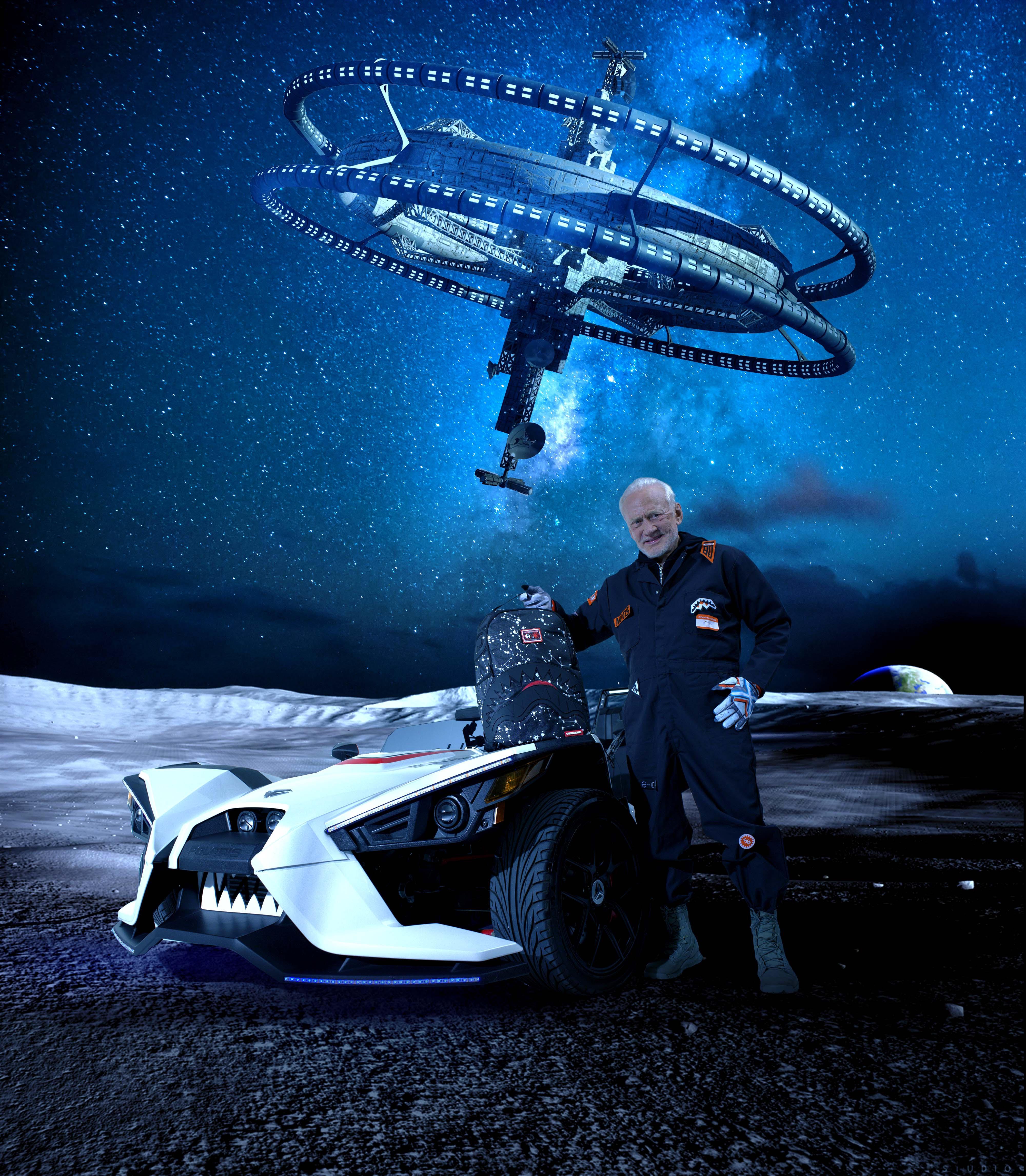 Sprayground's Buzz Aldrin Collaboration Celebrates Space