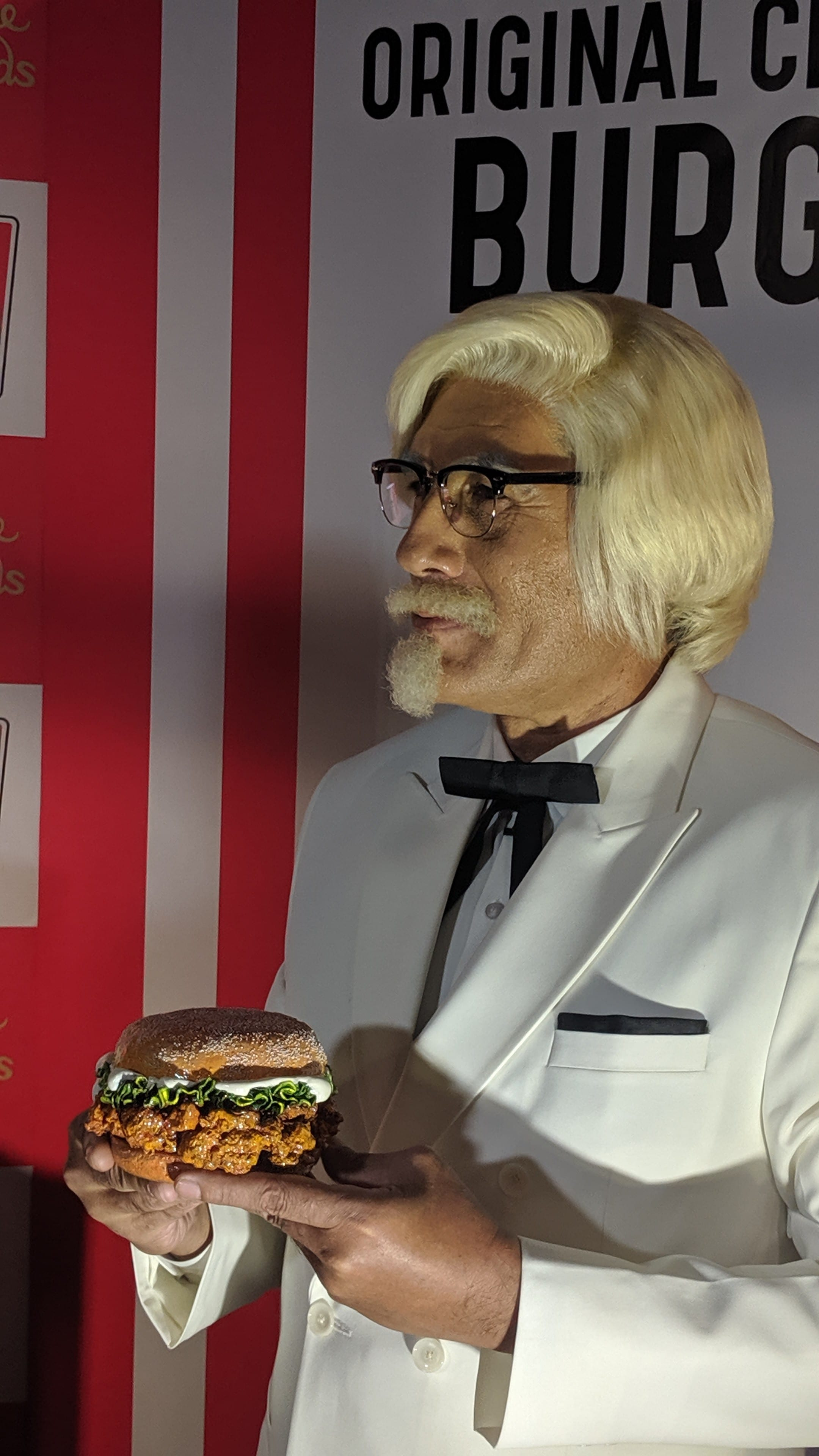 KFC's Zinger Burger Becomes the First Food Celebrity at Madame Tussauds