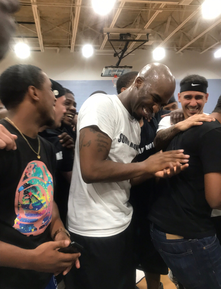 Chef Trez Emerges As MVP At First Annual URL Celebrity Basketball Game