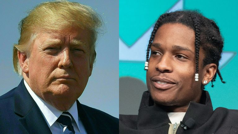 President Trump's Allies Reportedly Call A$AP Rocky's Camp Ungrateful for Not Thanking Them for Swedish Involvement