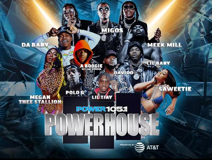 Migos,MeekMill,MeganTheeStallion,ABoogieWitDaHoodie&MoretoHeadlinePower.'sPowerhouseConcert